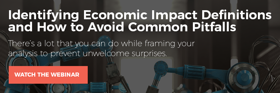 Identifying Economic Impact Definitions and How to Avoid Common Pitfalls | Watch the Webinar